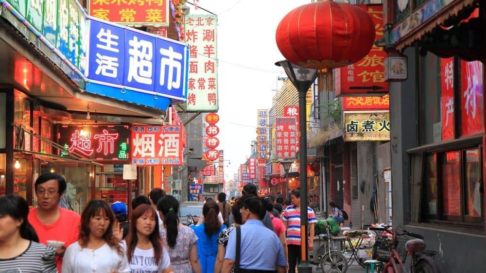 rua da china. aids na china é problema grave de saúde pública