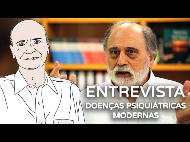 """O psiquiatra Daniele Riva e o texto """"entrevista doenças psiquiátricas modernas."""""""