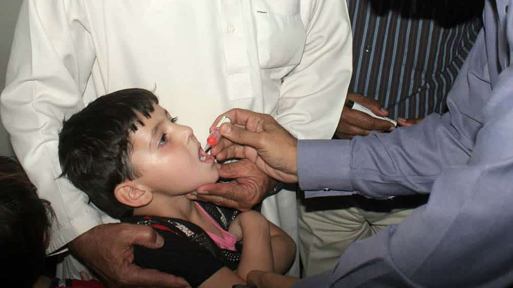 vacina oral poliomielite