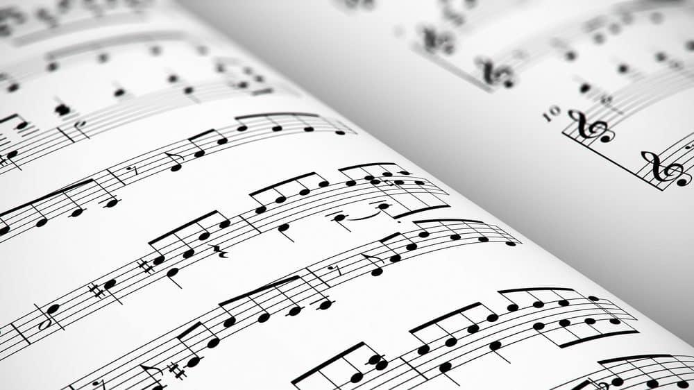 partitura musical. Fundação OSESP é uma das orquestras mais importantes do mundo