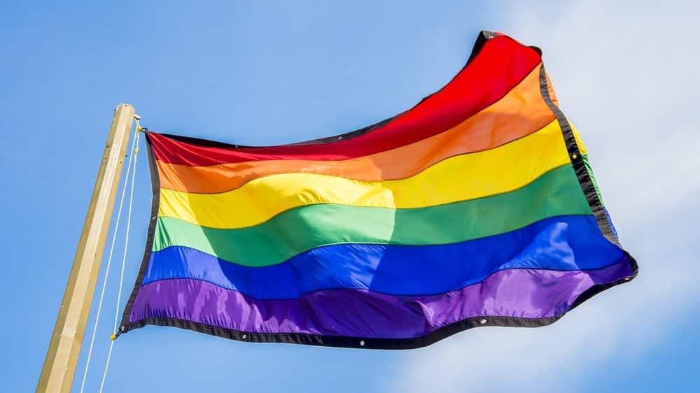 bandeira lgbti. Homossexualidade não é escolha