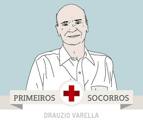 Logo do aplicativo Primeiros Socorros Drauzio Varella.