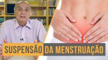 suspensão menstruação