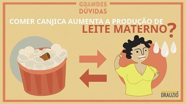 Comer canjica faz aumentar a produção de leite materno?