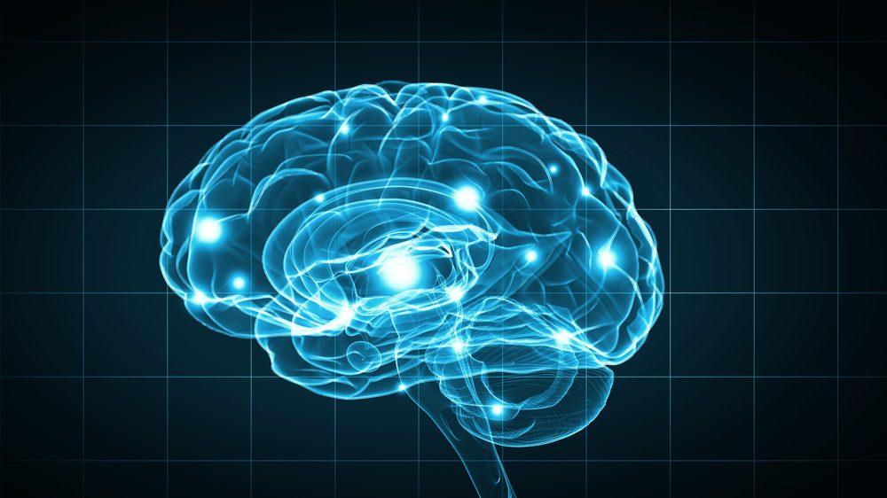 desenho de cérebro com neurônios em atividade. Ideias e crenças podem influenciar o modo como percebemos ilusão e realidade