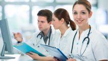 estudantes de faculdades de medicina