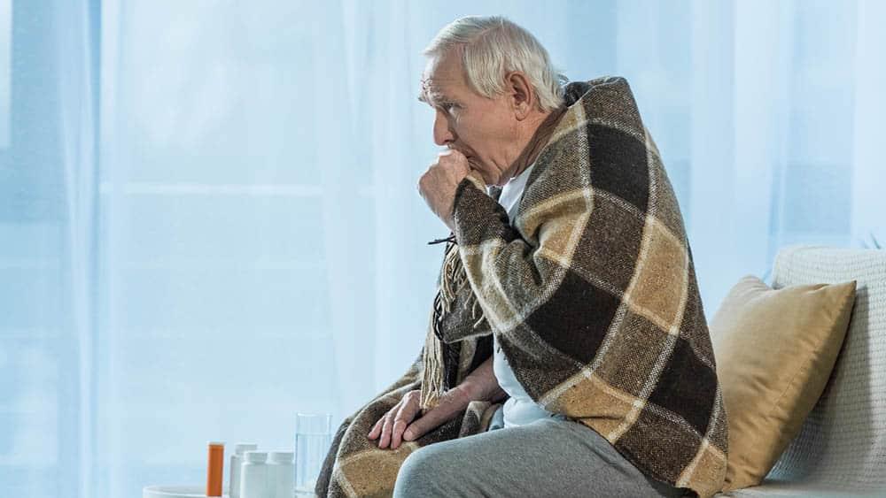 idoso tosse pneumonia