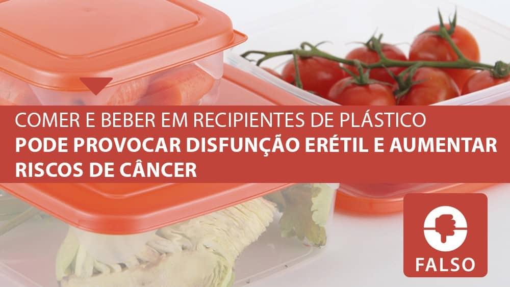 Recipientes plásticos oferecem risco à saúde?