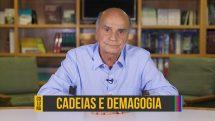 """Dr. Drauzio Varella e o texto """"cadeias e demagogia""""."""