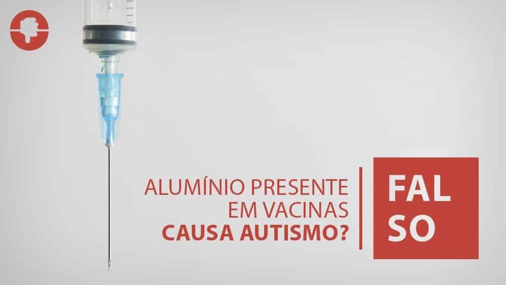 foto de uma seringa. alumínio presente em vacinas não causa autismo