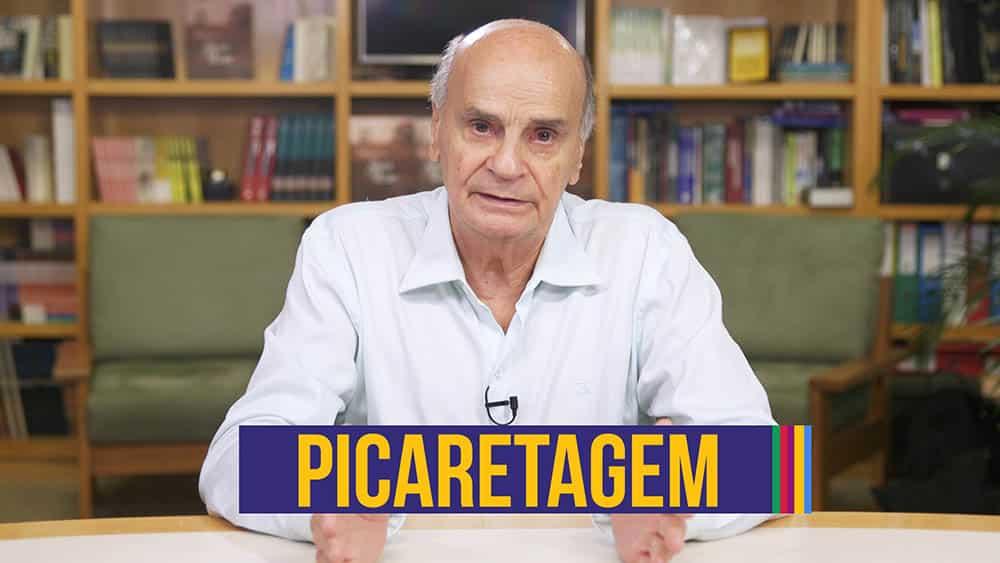 """Dr. Drauzio e, abaixo, o texto """"picaretagem""""."""