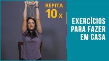 Exercícios para fazer em casa   Dicas Rápidas #03