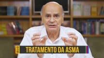 """Dr. Drauzio Varella e abaixo o texto """"tratamento da asma""""."""