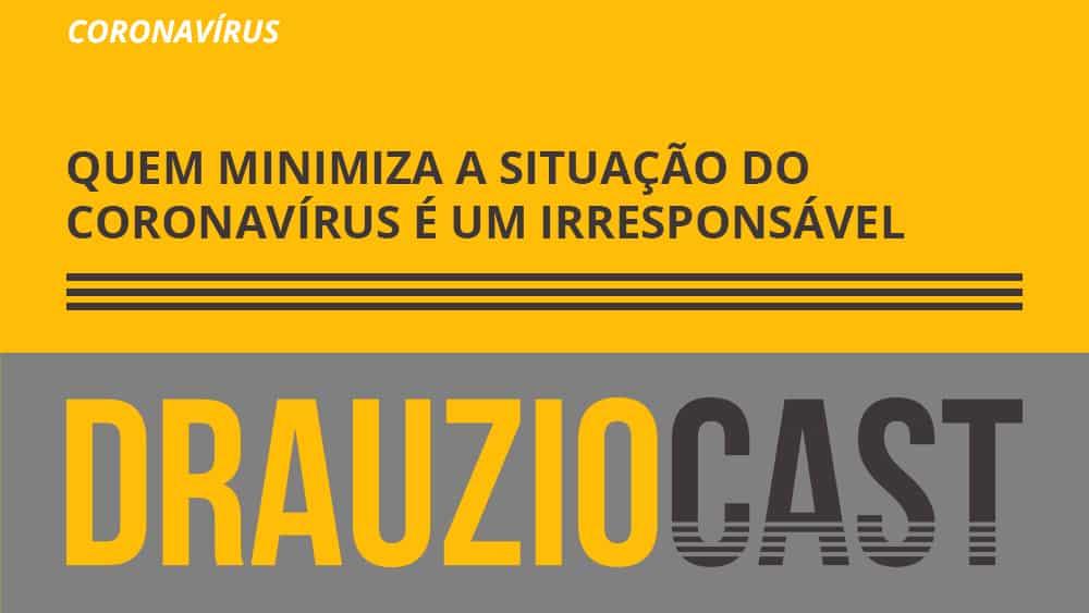 Dr. Drauzio dá um recado para quem minimiza a pandemia do novo coronavírus.