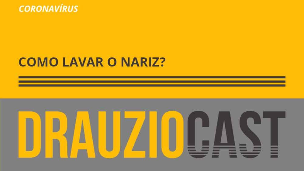 Dr. Drauzio Varella explica como lavar o nariz com soro fisiológico pode ser uma arma contra o coronavírus.