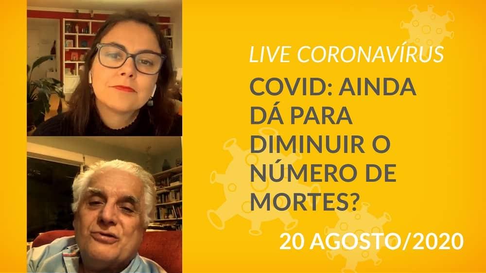 Mariana Varella, editora-chefe do Portal Drauzio Varella, conversa com o epidemiologista Paulo Lotufo,sobre mortes por covid-19.